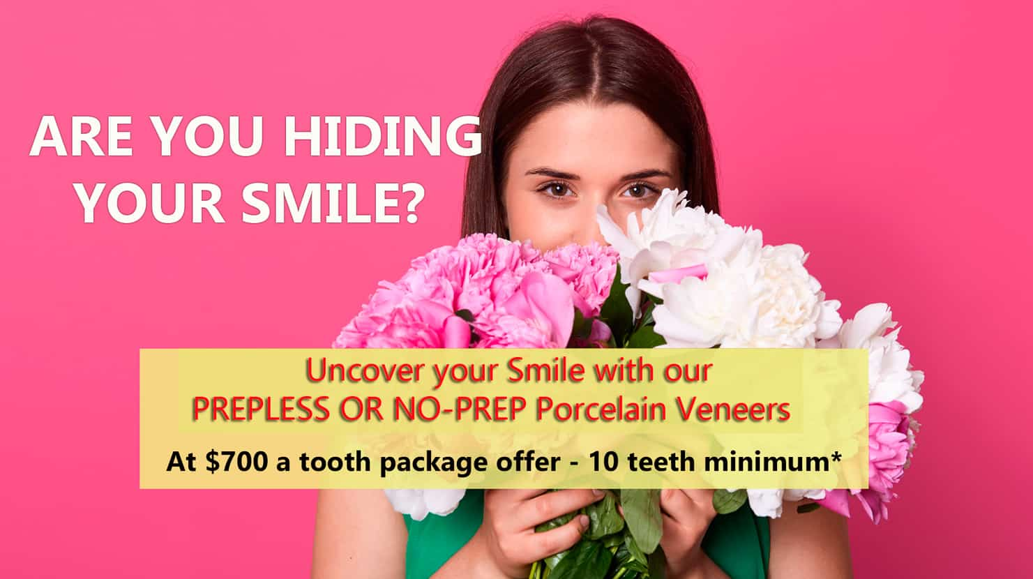 Bridal Smile Makeover cost saving Specials in Melbourne